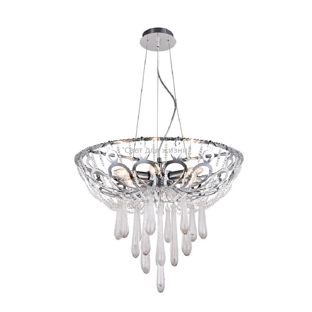 Люстра Crystal Lux DOROTEA SP5 D450 CHROME