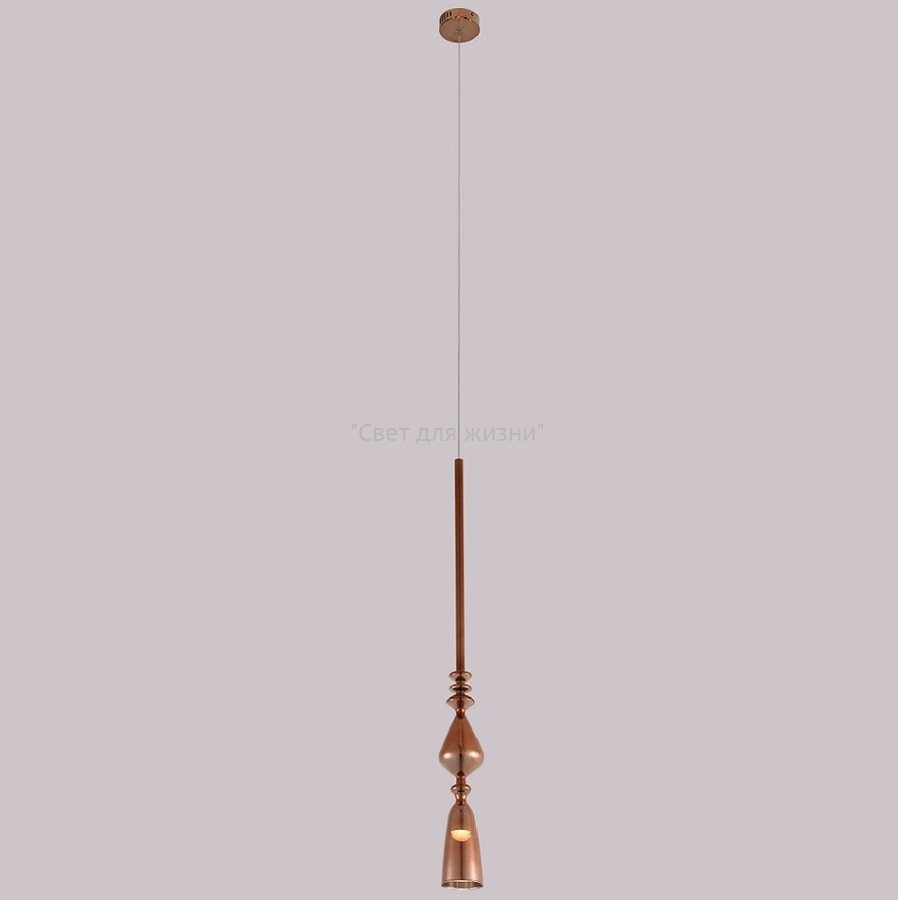 Люстра Crystal Lux LUX SP1 B COPPER